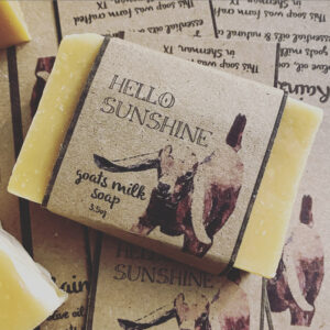 Hello Sunshine Goat Milk Soap