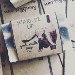 Wake Me Up Goat Milk Soap