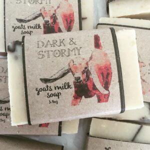 Dark & Stormy Goat Milk Soap