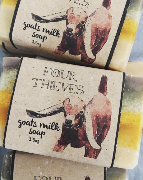 Four Thieves Goat Milk Soap